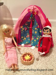 Happiest Mom on the Blog: Now Over 90 Elf on the Shelf ideas