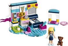"""LEGO Friends Set - """"Stephanie's Bedroom"""" - Complete with Manual Educational Toys For Kids, Kids Toys, Legos, Golf Putting Green, Hama Beads Minecraft, Perler Beads, Minecraft Crafts, Lego Minecraft, Minecraft Skins"""