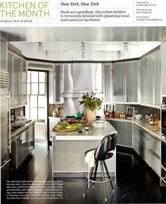 By Anik Pearson. Poured concrete counters by Oso Industries.
