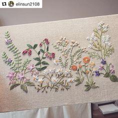 @elinsun2108 #needlework #handembroidery #broderie #bordado #ricamo #embroidery