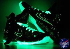 """Nike LeBron 9 Foamposite """"Galaxy"""" Custom by AF1 King"""