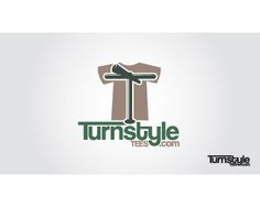 Logo for Online T-Shirt Company TurnstyleTees  by barcelona