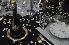 New Year's Eve Table Decor