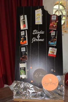 Plan de table mariage chocolat Graff Event