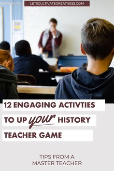 Build a strong teacher toolbox with these 12 engaging, science-backed middle and high school activity ideas. From growing student vocabulary to using tactile learning and movement, this list has you covered with use-tomorrow ideas. Social Studies Classroom, Social Studies Activities, History Activities, Teachers Toolbox, New Teachers, High School Activities, Classroom Activities, Curriculum Planning, Lesson Planning