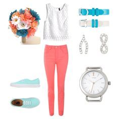 Coral & Turquoise....need I say more?  http://keep-collective.com/with/courtneynichols