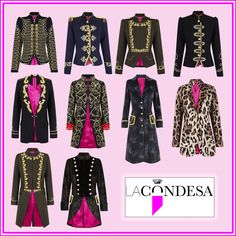 Stunning handmade jackets! I love them and hope to wear one of these some day! @lacondesaconde