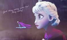 """Stay Away From Me!"" ~ Elsa the Snow Queen"