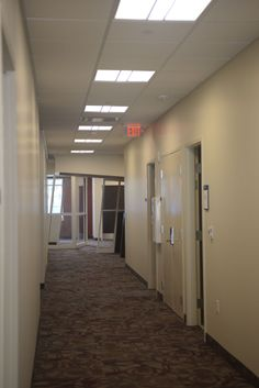 Another view of the hallway