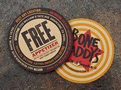 Bone Daddy's free Appetizer Cards