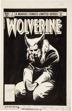 Frank Miller and Joe Rubinstein Wolverine#3 (Marvel, 1982)