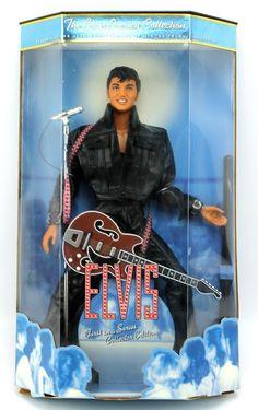 Elvis Presley Collector Ed '68 Television Special Doll Figure 20544 1998 Mattel #Mattel #Dolls #weboys10