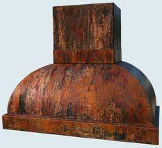 Copper  Range Hood  # 2971