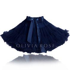 PS101-NAVY | Olivia Rose ™ Pettiskirts  I want one!