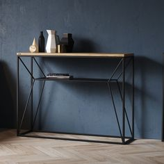 Weekly sales of unseen design and decoration brands at exclusive discounts. Iron Furniture, Steel Furniture, Deco Furniture, Table Furniture, Home Furniture, Console Style, Console Design, Console Tv, Industrial Design Furniture