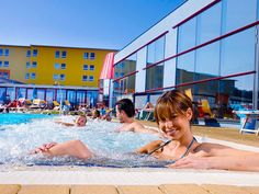 Baseny Termalne w Sebersdorf w Styrii - Austria Austria, Fair Grounds, Louvre, Spa, Building, Outdoor Decor, Travel, Recovery, Travel Report