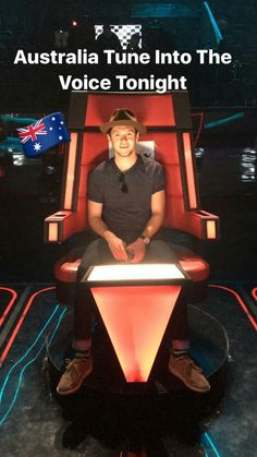 Niall for The voice Australia