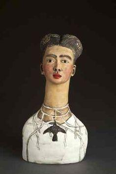 Resultado de imagem para frida kahlo sculptures