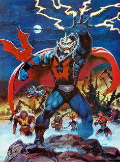 Hordak of MOTU by Earl Norem