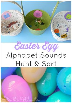 Easter Egg Alphabet Sounds Hunt & Sort