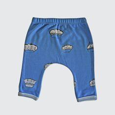 Blue Crown Leggings