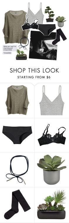 """24 ❁❤♡"" by r-elentless ❤ liked on Polyvore featuring H&M, Patagonia, Agent Provocateur, Crate and Barrel, GET LOST and Nearly Natural"