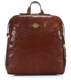 wardow.com - The Bridge, Story Donna #Rucksack Leder braun 27 cm