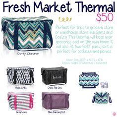 Fresh Market Thermal by Thirty-One. Fall/Winter 2015.