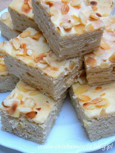 Aniołek – delikatne ciasto z kremem śmietanowo – maślanym | chlebem i solą