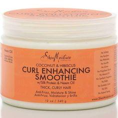 Shea Moisture Curl Enhancing Smoothie, Coconut & Hibiscus - 12 oz jar
