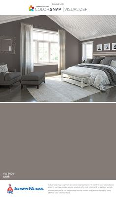 I found this color with ColorSnap® Visualizer for iPhone by Sherwin-Williams: Mink (SW 6004).