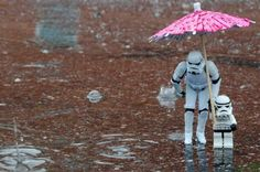 Secret Lives of Stormtroopers: Puddle Jumping