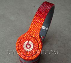 RED FADING Swarovski Crystal Bling Beats by Dre. Whats Your Color?