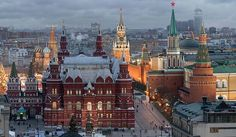 The State Historical Museum of Russia is a museum of Russian history wedged between Red Square and Manege Square in Moscow. Its exhibitions range from relics of... Get more information about the State Historical Museum Moscow on Hostelman.com #attraction #Russia #museum #travel #destinations #tips #packing #ideas #budget #trips