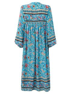 Only US$31.89 , shop Bohemian Women Floral Printed V-Neck Irregular Tassels Dresses at Banggood.com. Buy fashion Floral Dresses online.
