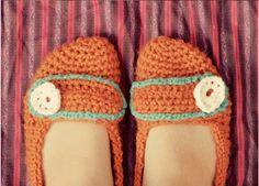 crochet slippers - Google-søgning