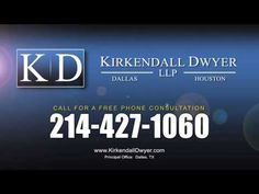 If you've been injured in an accident and someone else is at fault, call and speak to a lawyer right now at Dallas Injury Lawyer Kirkendall Dwyer.... 214-427-1060.