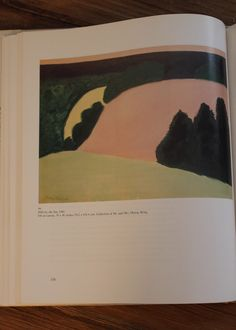 Milton Avery | Hills by the Sea (1960)