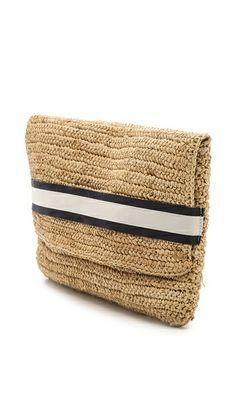 Bop Basics Chunky Crochet Clutch
