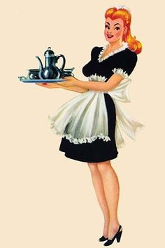 Being one of my jobs as a woman was as a maid I liked this!