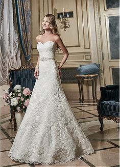 Stunning Tulle Bateau Neckline 2 In 1 Wedding Dress With Lace Appliques