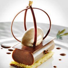 Château Saint-Martin & Spa - Milk chocolate jivara 40%, Tender jelly, Lime ice cream