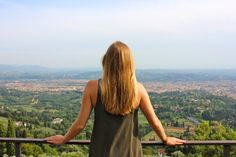 View of Florence. Fiesole, Italy