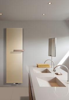 Designradiator Niva Soft van Vasco biedt volop gebruiksgemak door de thermostaatknop op heuphoogte. Deze is organisch in het geheel verwerkt en helemaal in lijn met de tijdloze look.