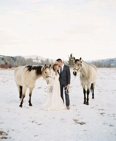 Stunning Winter Wedding Locations | Montana
