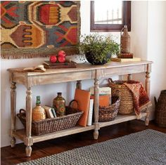 New Hallway Gallery Wall and console table Seasonal decor