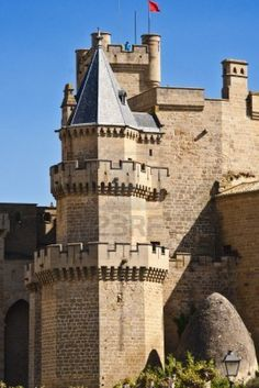 Castillo-Palacio de Olite, Navarra, España
