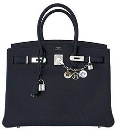 Hermès Hermes Birkin Tote in Black