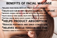 Everyone loves a good massage right? Your face needs one too!