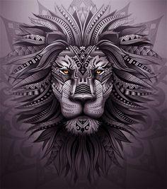 lion zion by motoroker #maoritattoosbrazo